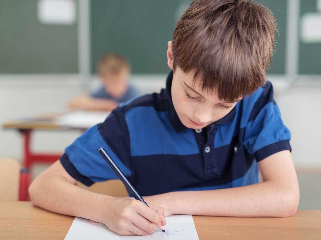 Exámenes niños de 8 a 11 años