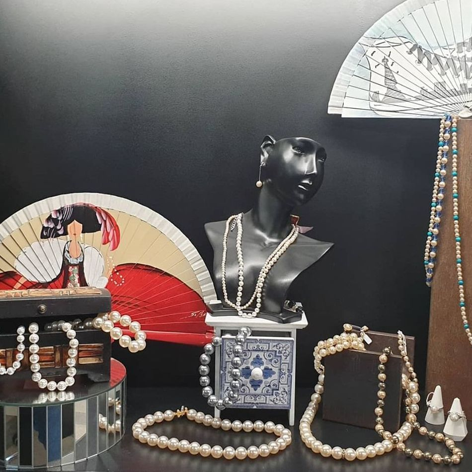 Vitrina perlas