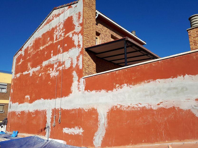 Reparación y pintura de medianeras en Zaragoza