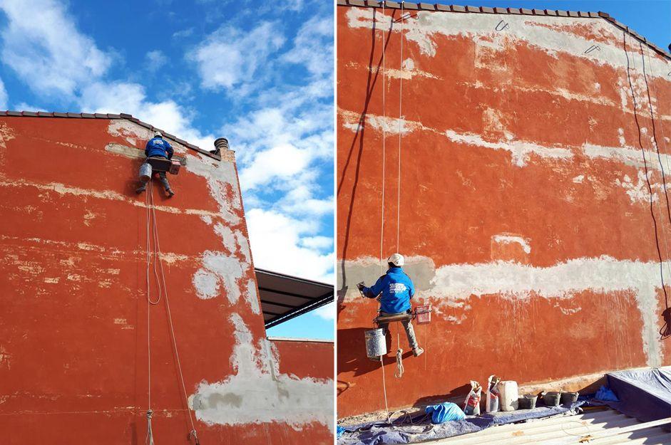 Trabajos verticales en Zaragoza