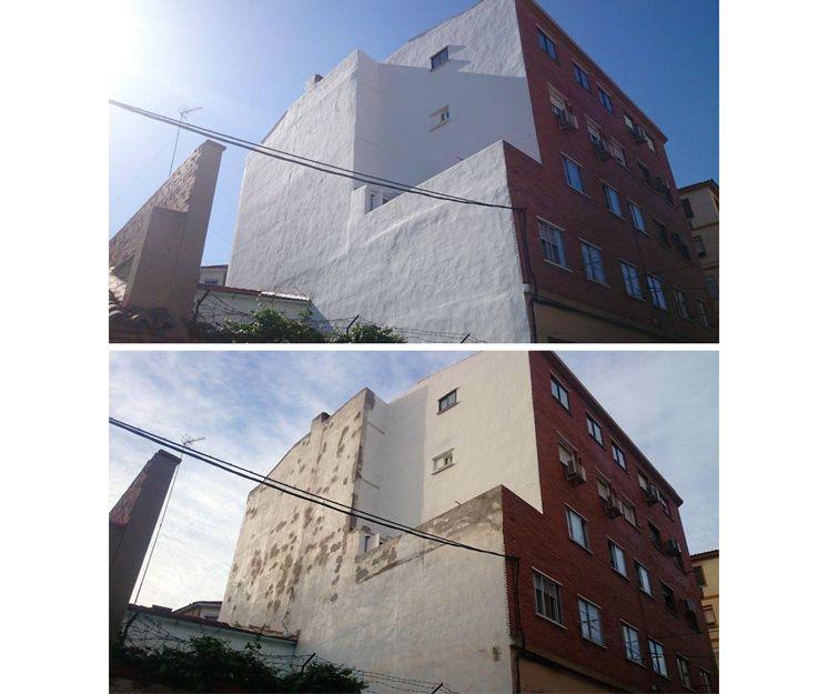 Rehabilitación de medianeras sin andamios en Zaragoza