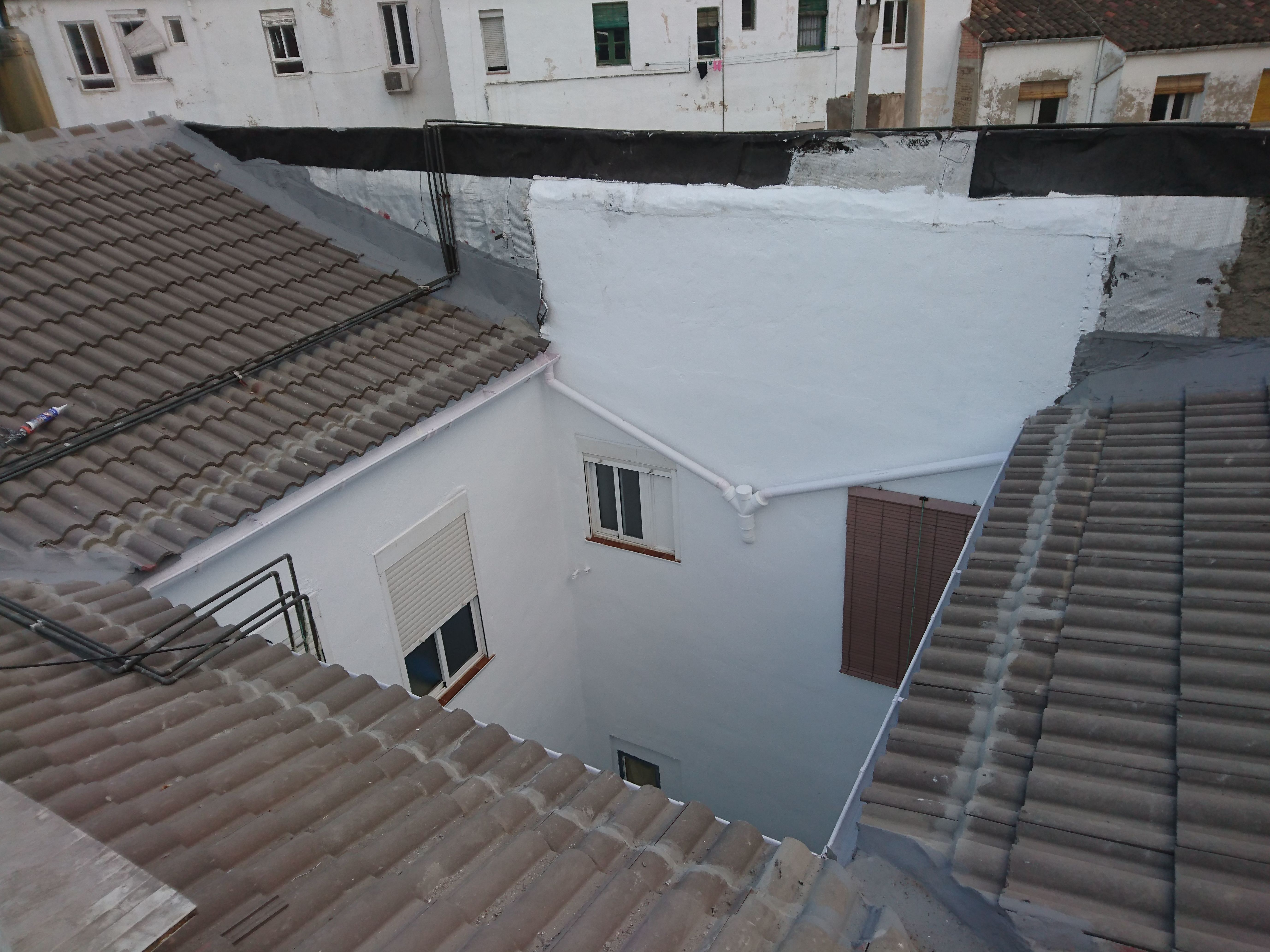 Tejados y terrazas: Servicios de Arastur Vertical