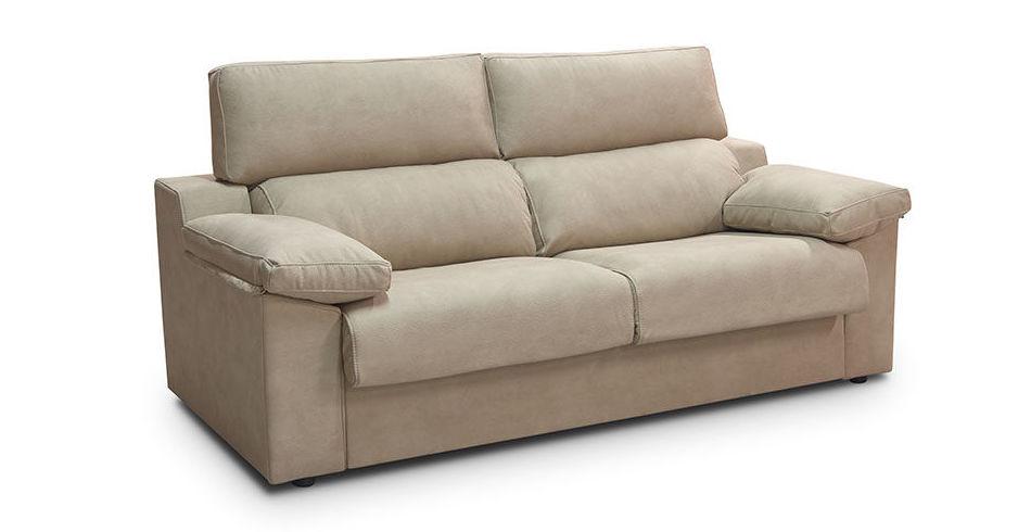 Sofa cama de 208, tap. microfibra
