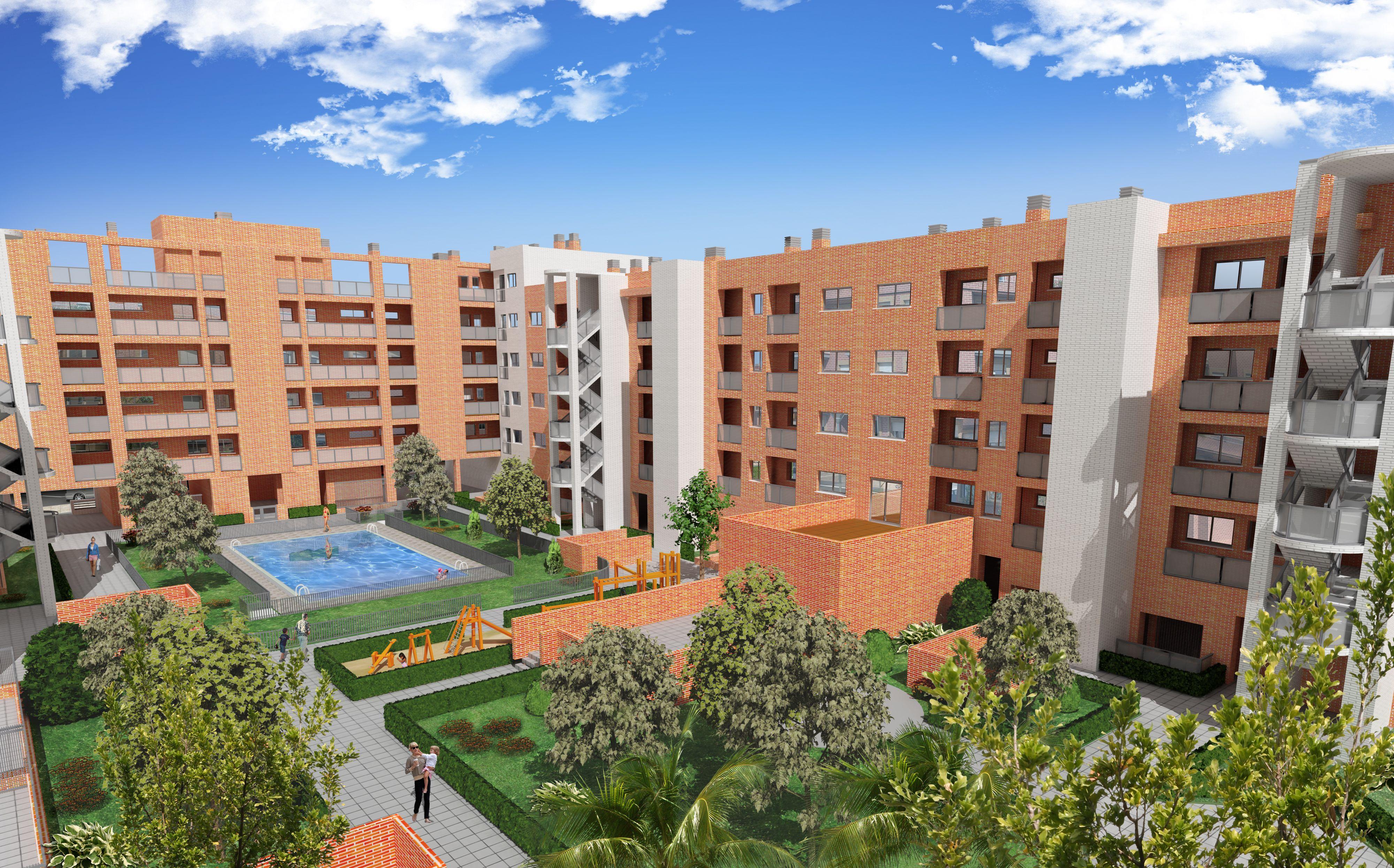 Proyecto viviendas en altura Getafe