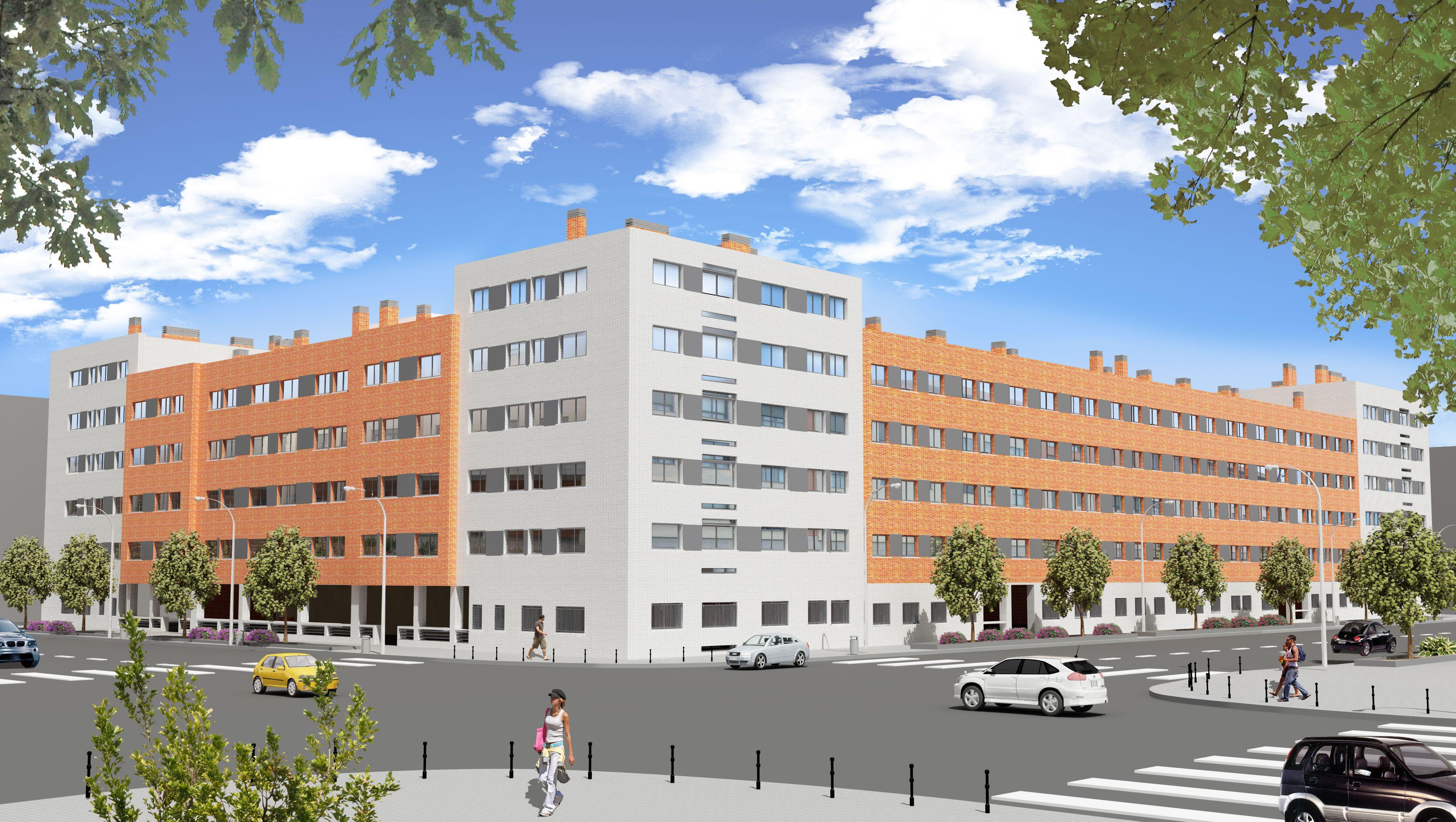 157 viviendas en Getafe, Los Molinos, Madrid