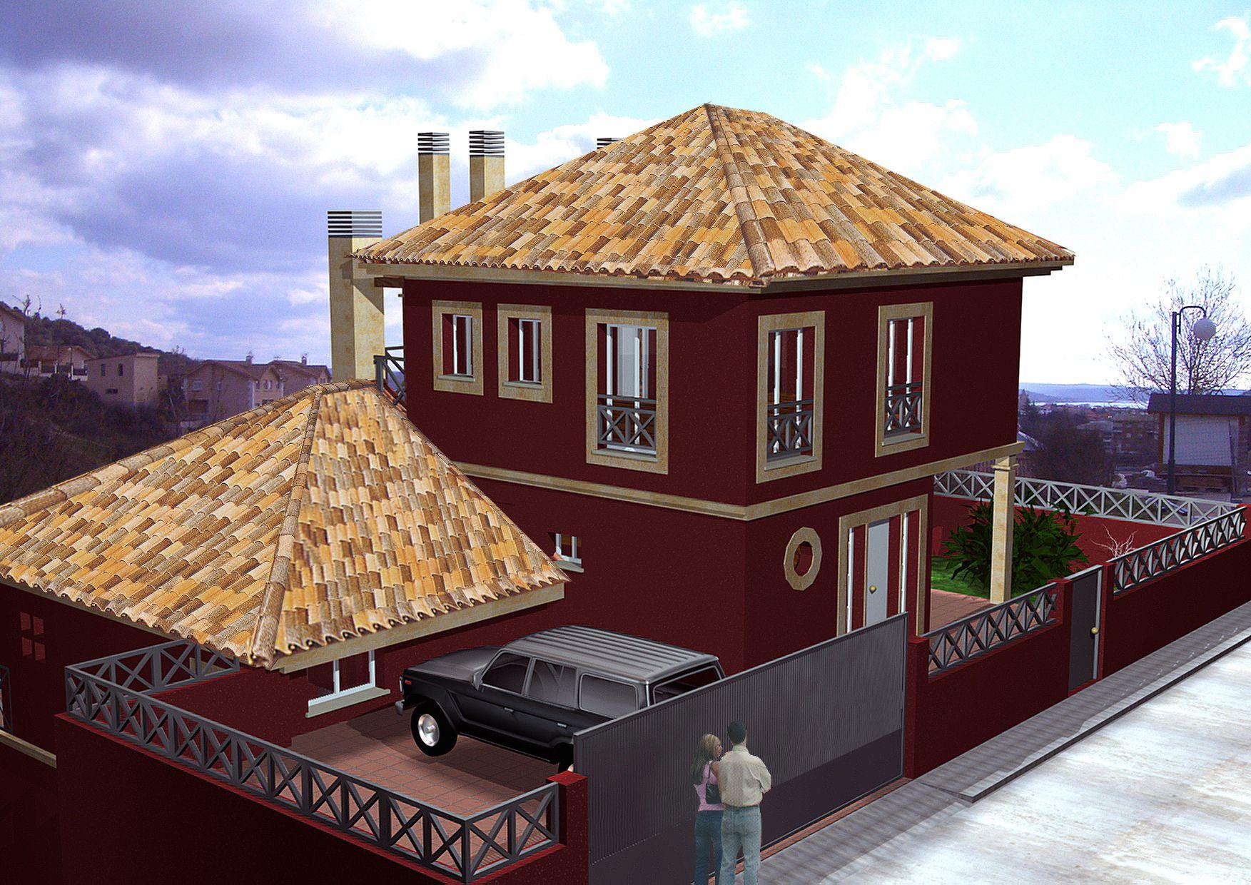 Proyecto vivienda unifamiliar Guadalix de la Sierra