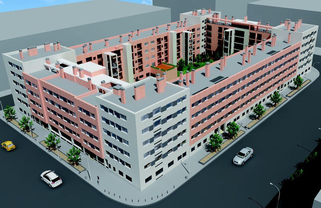 Construcción viviendas Getafe, Los Molinos
