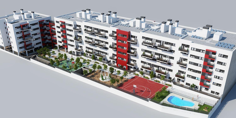 Proyecto viviendas en Cuenca