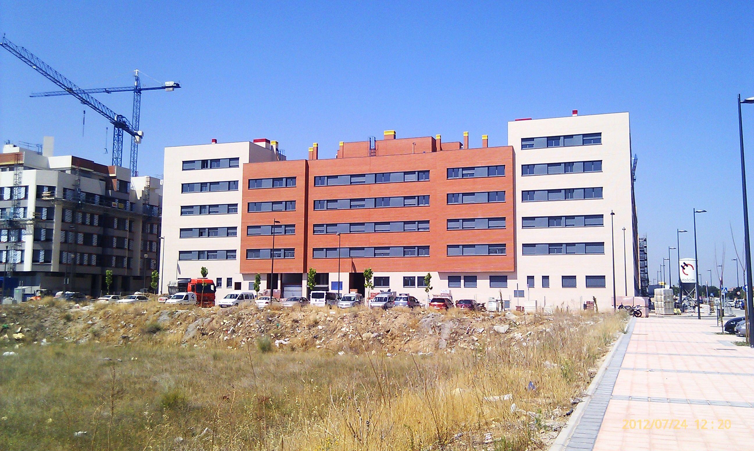 Proyecto de viviendas Getafe