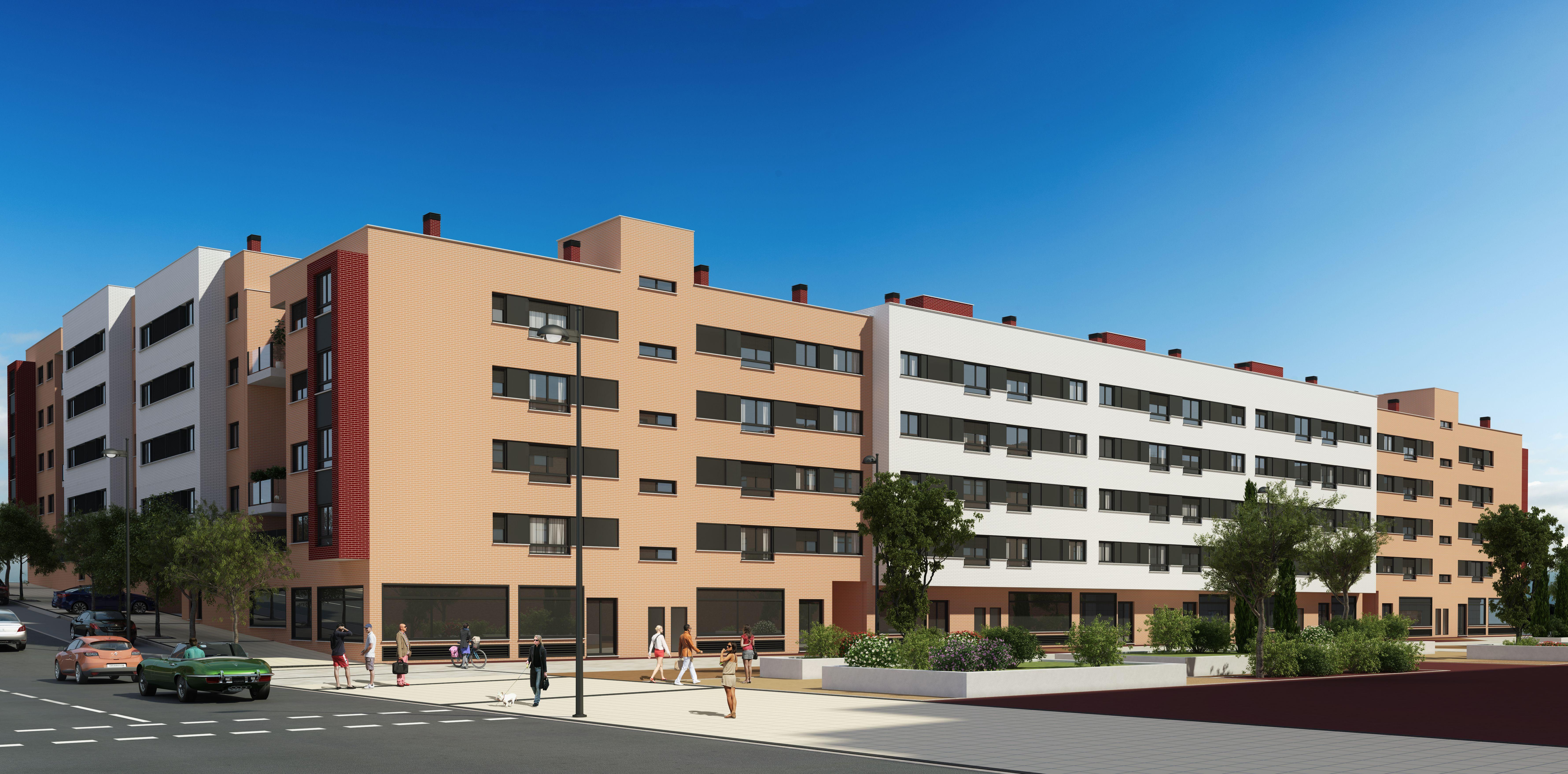 146 viviendas en Getafe, Buenavista