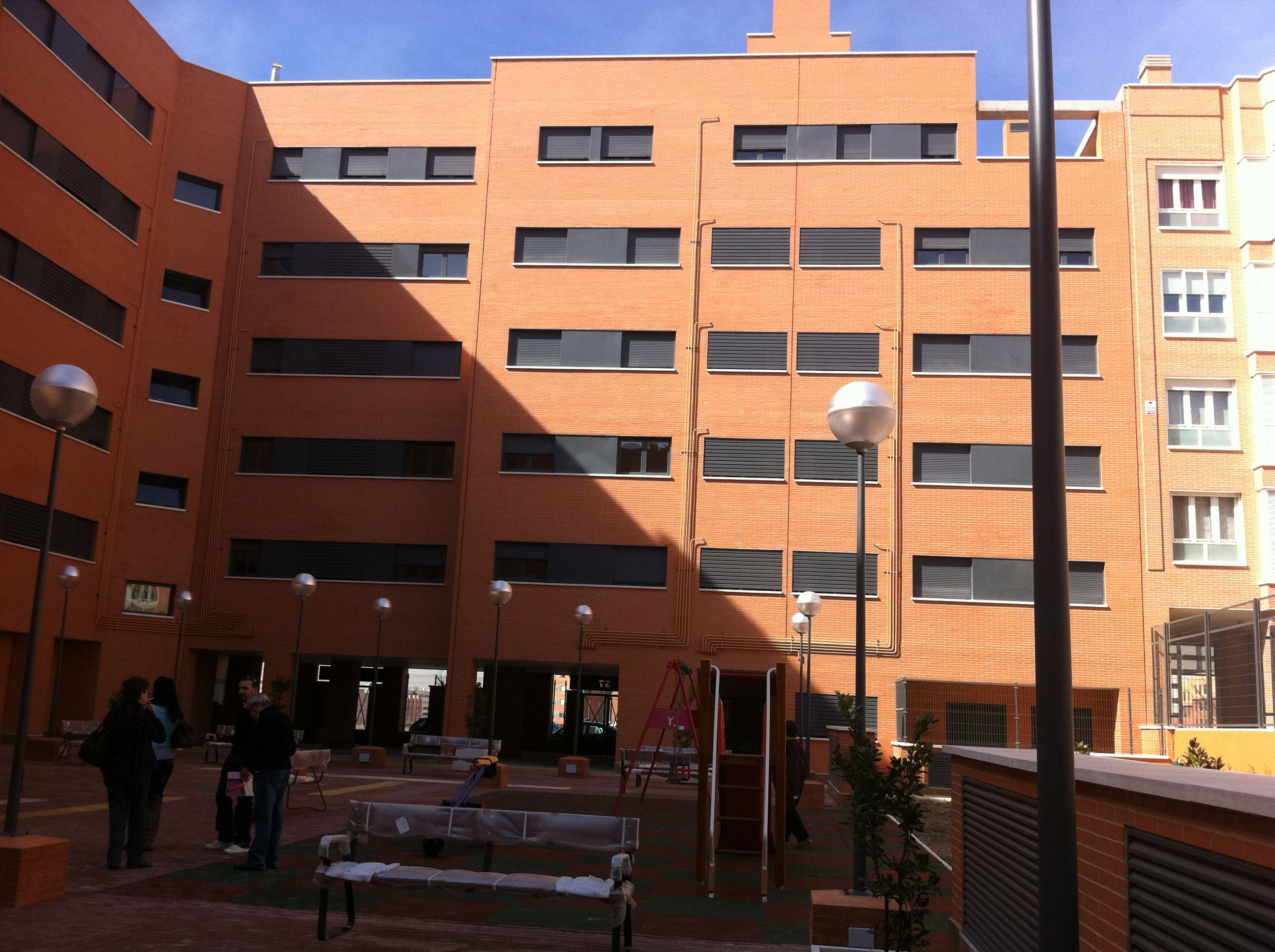66 viviendas en Vallecas