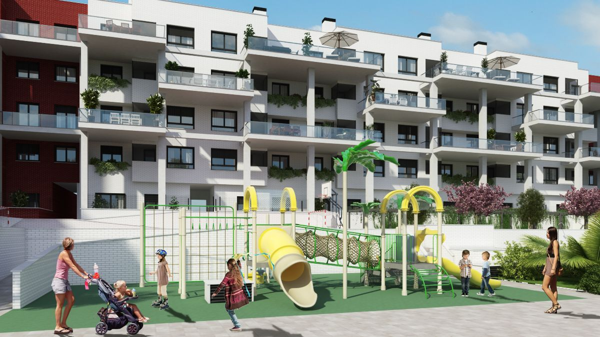146 viviendas en altura Getafe, Madrid