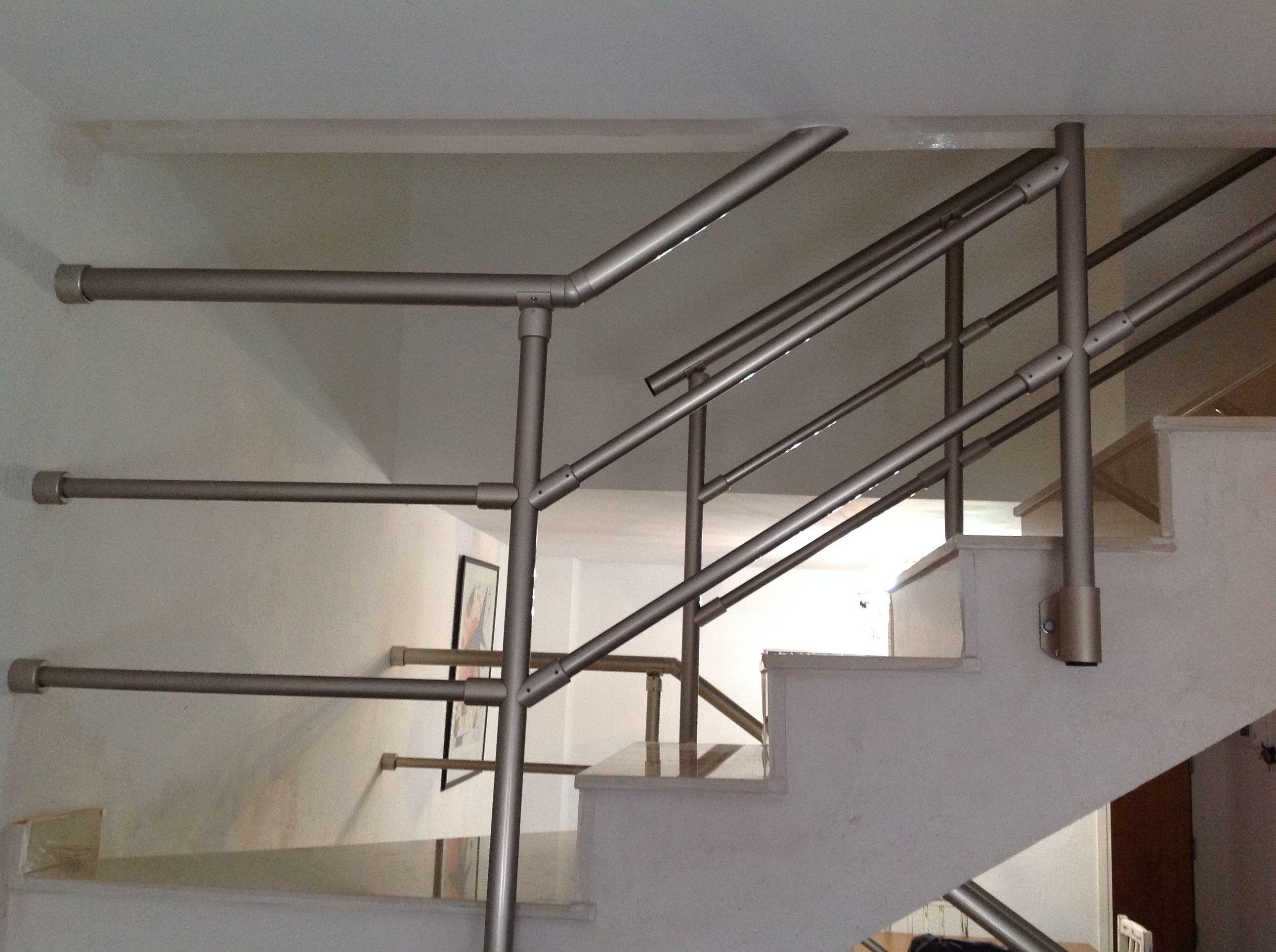 Barandillas interiores de aluminio