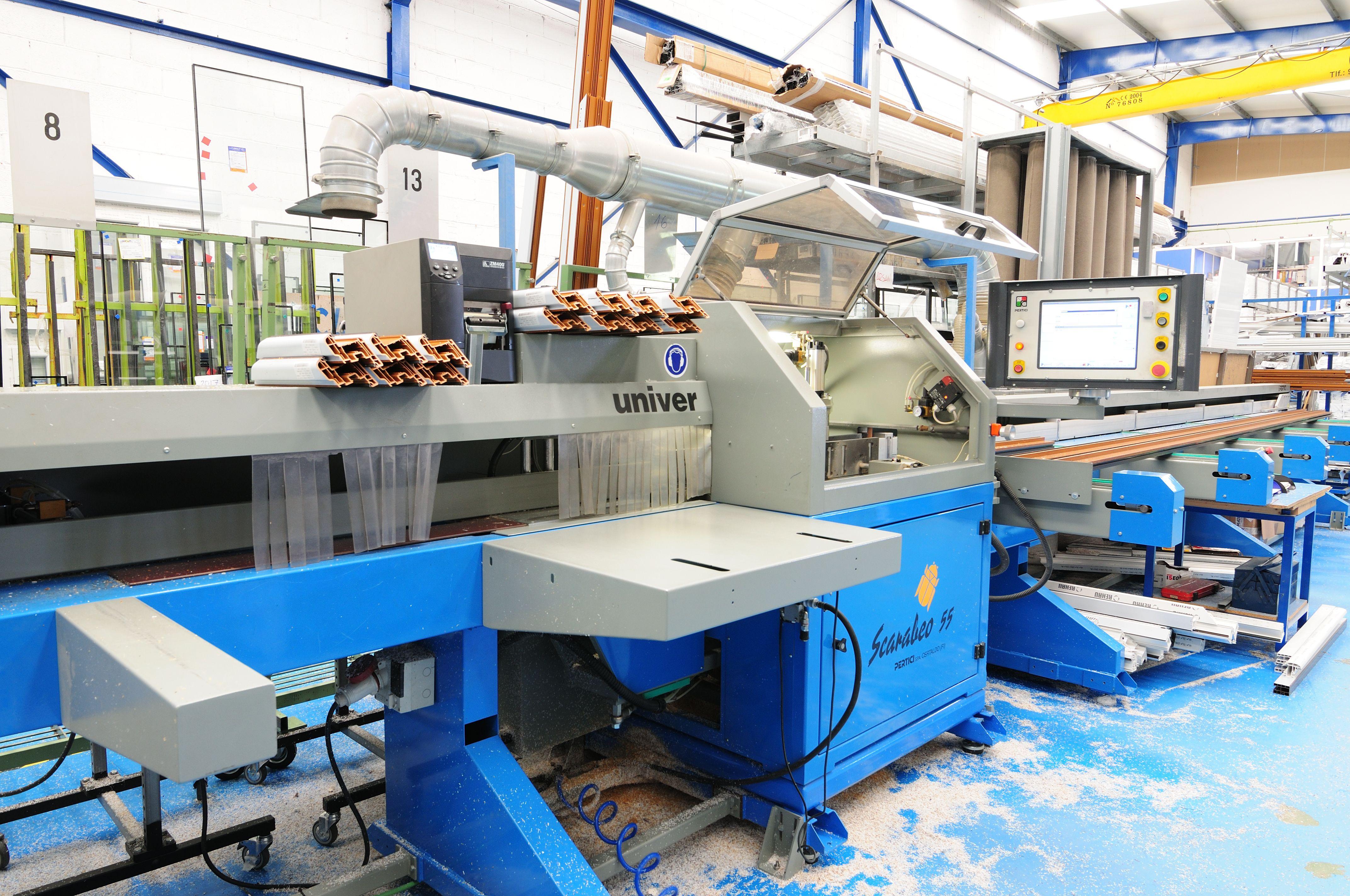 Trabajos de aluminio y PVC