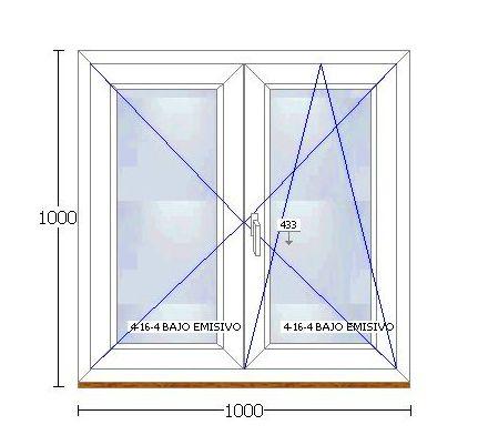 PVC 70 bicolor: Ventanas en Stock de Ventanas Arsan