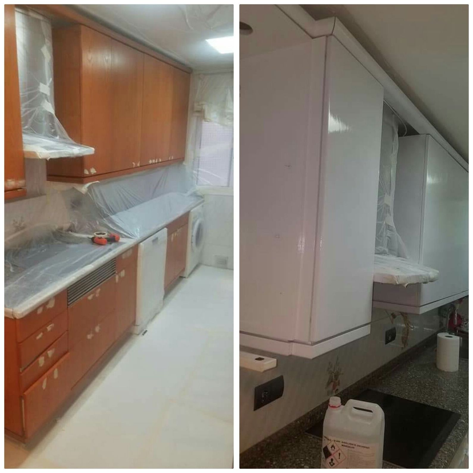 Reparación y esmaltado de muebles de cocina .: Servicios de Doctor ...