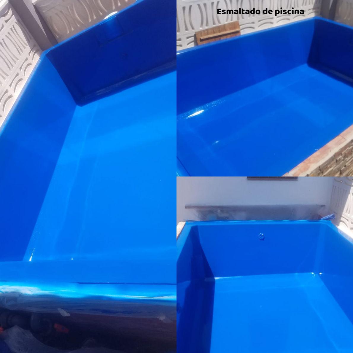 esmaltado de piscina