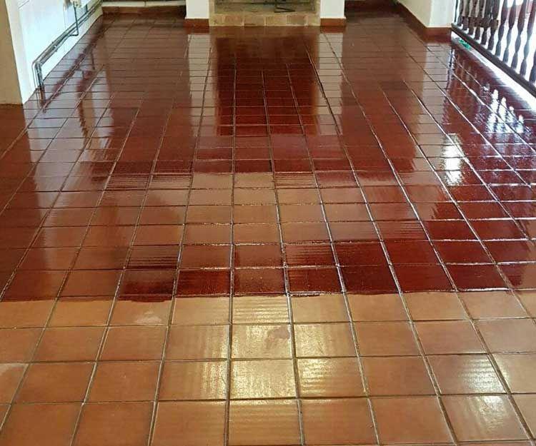 Floor brightening in Ibiza
