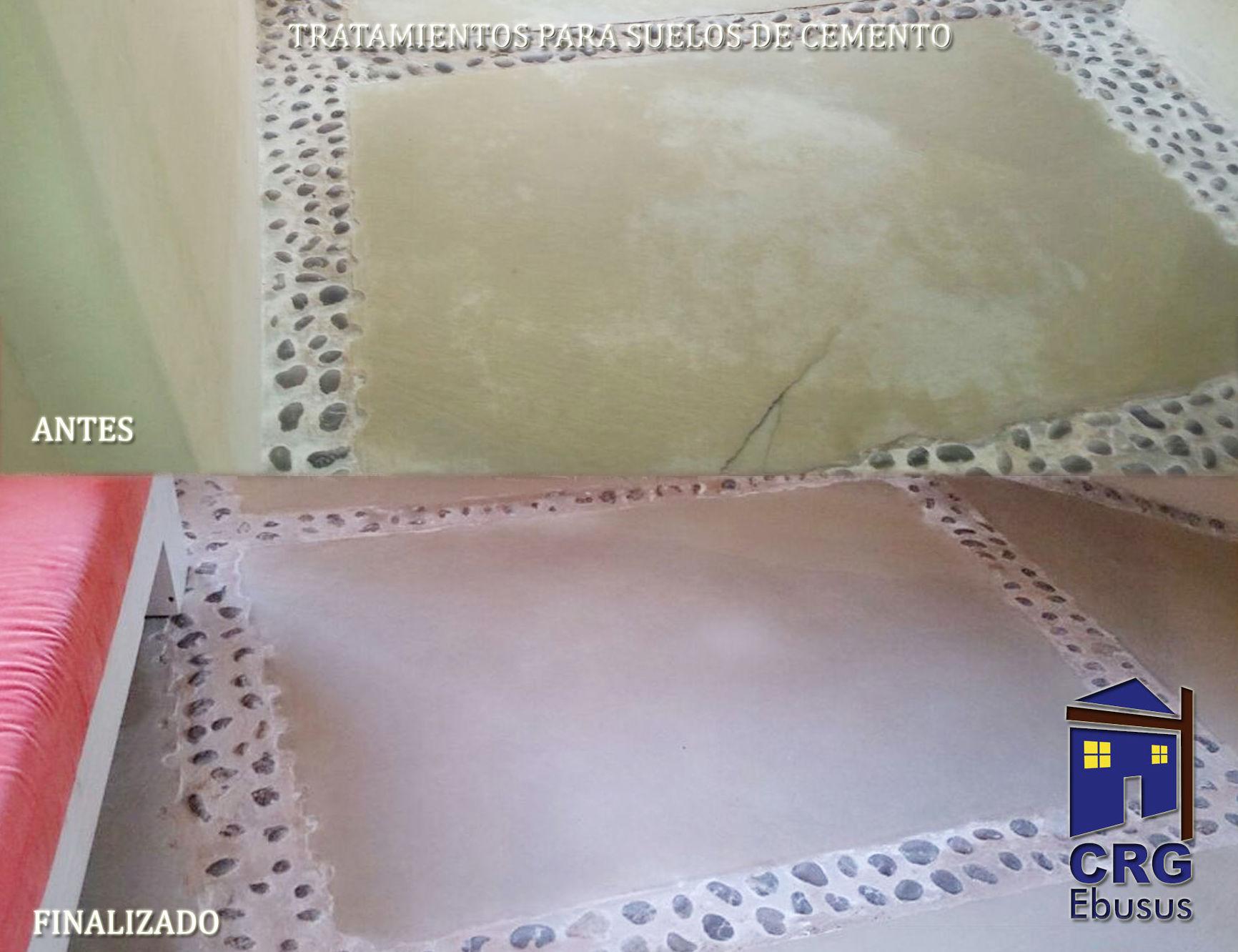 Treatment of concrete floors