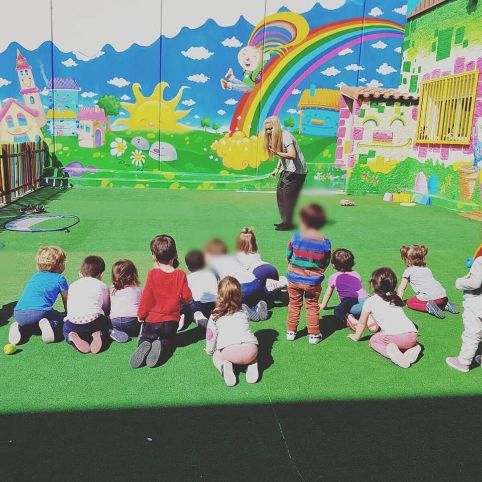 Escuela infantil en Alcorcón con dos amplios patios