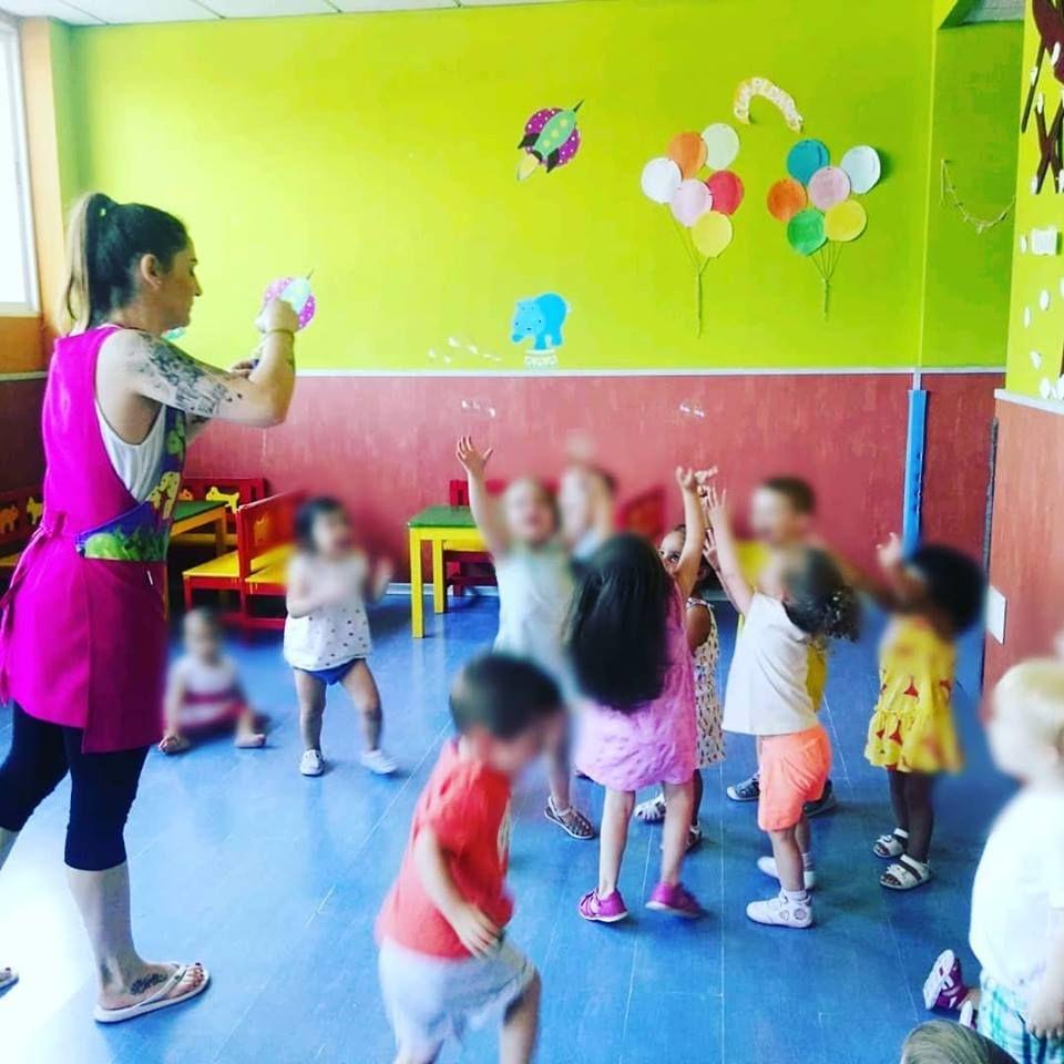Escuela infantil en Alcorcón con juegos y actividades