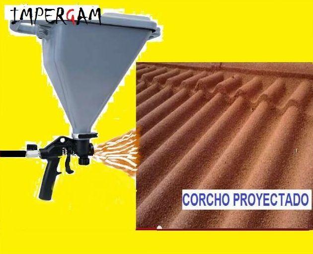 Impermeabilizar con corcho proyectado en Valencia y provincia