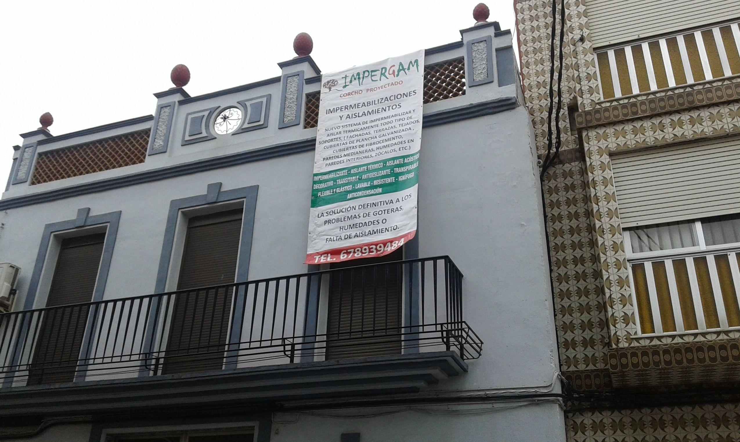 RESTAURACION DE FACHADAS CON CORCHO PROYECTADO  (VALENCIA )