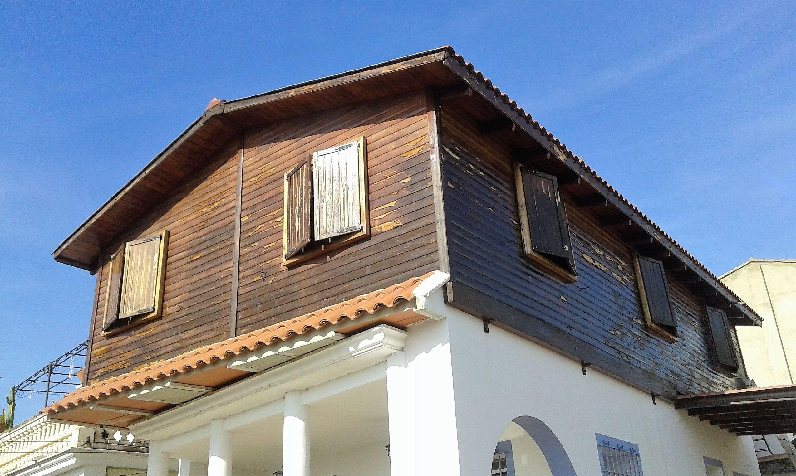 Casa de madera en font del omet picasent valencia - Casas madera valencia ...