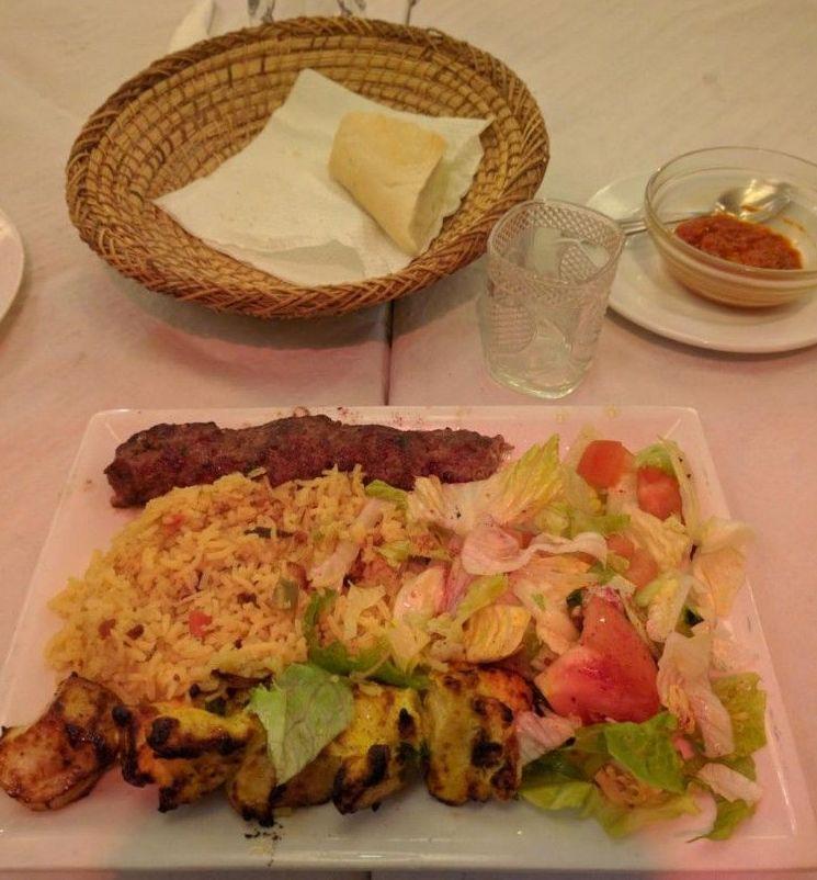 Comida tradicional arabe