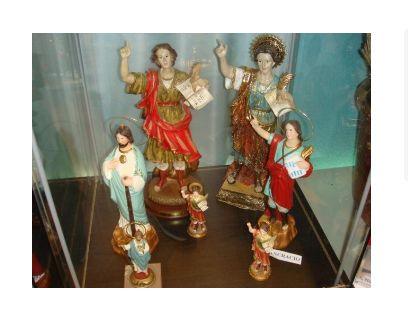 Imágenes religiosas en Palma de Mallorca