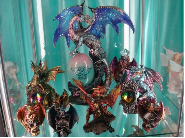 Figuras dragones en Palma de Mallorca