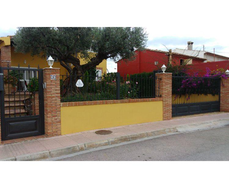 Vallas metálicas de seguridad en Castellón