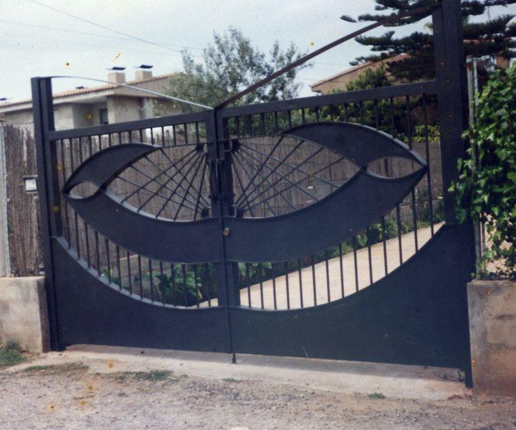 Puertas de acceso a jardín para vehículos