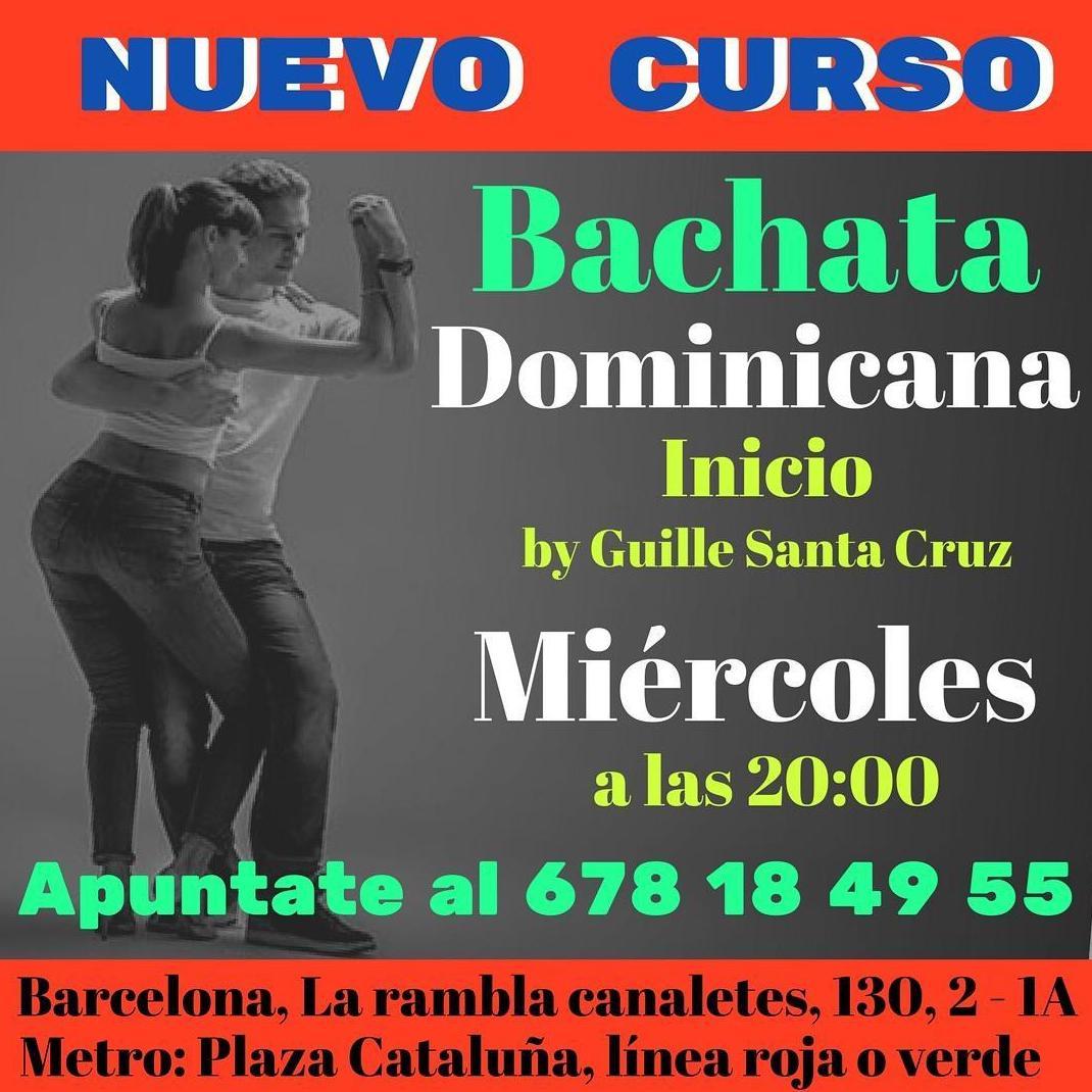 Curso de bachata dominicana en Marcando el Paso . Barcelona