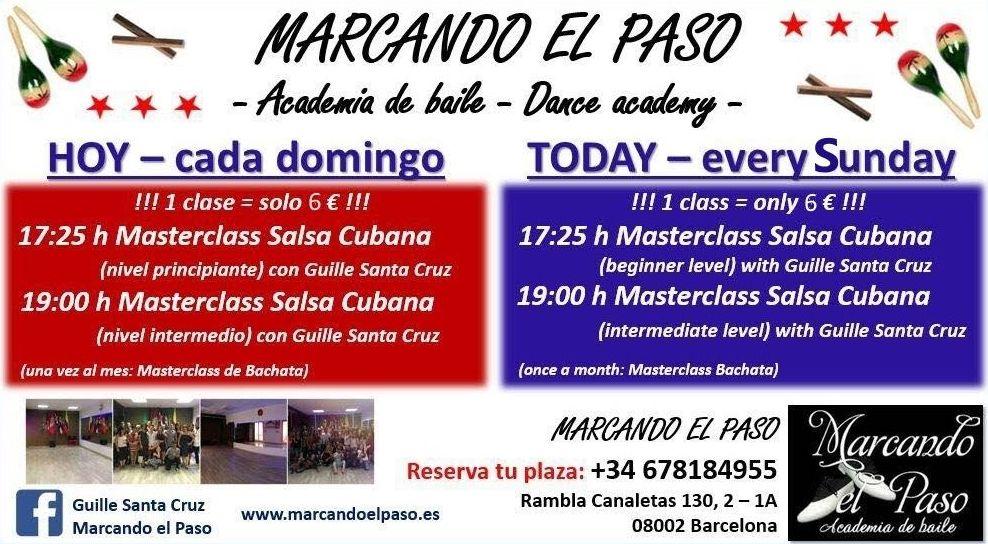 Cada Domingo - Every Sunday - MARCANDO EL PASO