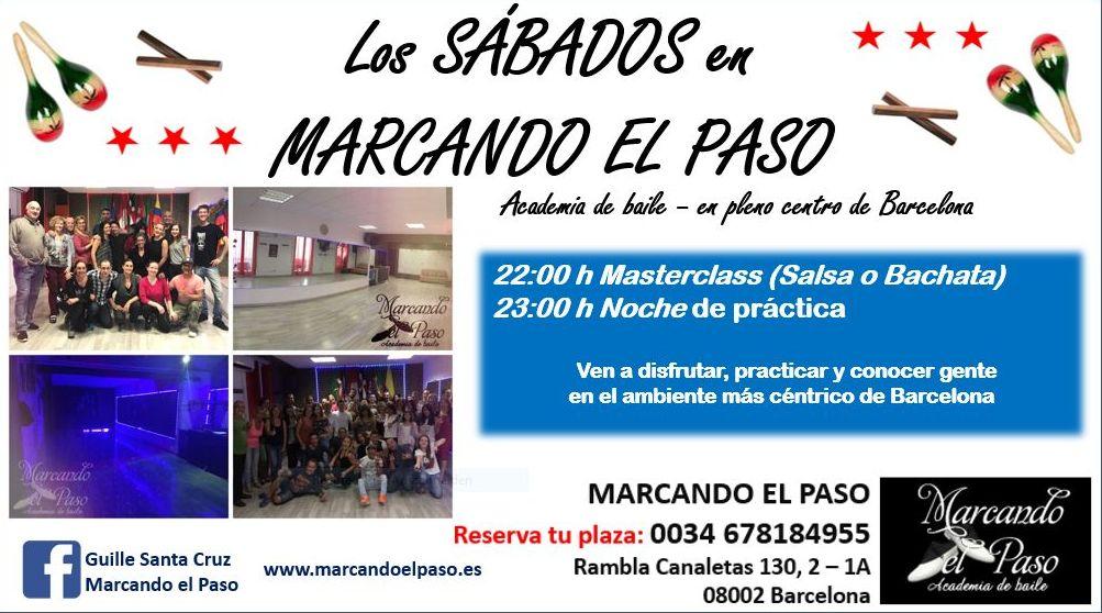 SÀBADOS Y DOMINGOS en MARCANDO EL PASO: Clases de MARCANDO EL PASO ...