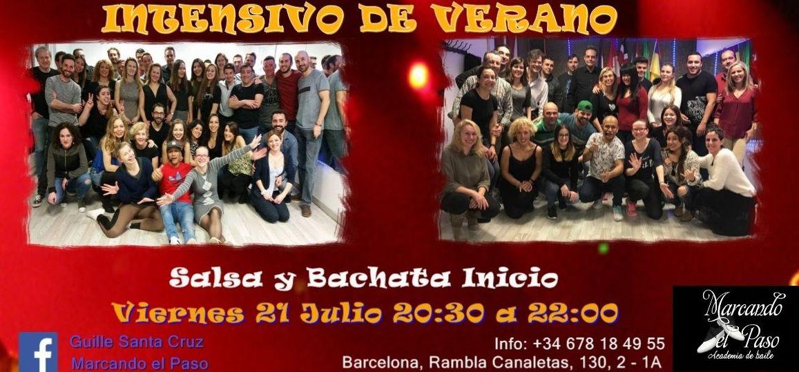 Intensivo de verano 2017 Salsa y Bachata Barcelona