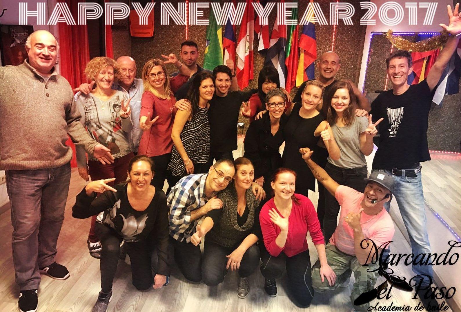empezamos con fuerzas - feliz año nuevo