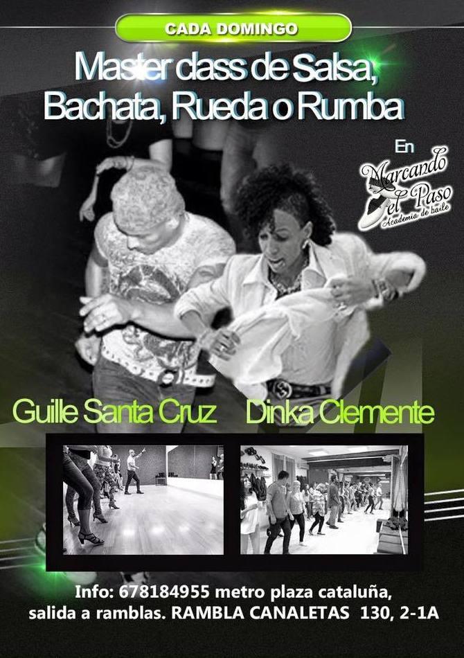 Taller de Salsa Cubana + baile social este domingo a las 18:00