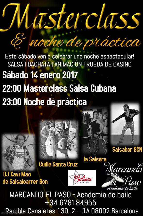 Masterclass y noche de practica - especial (14 de enero 2017)