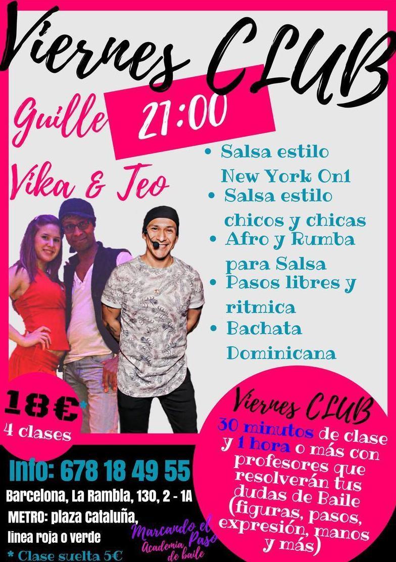 Viernes Club: Salsa Bachata...en Marcando el paso