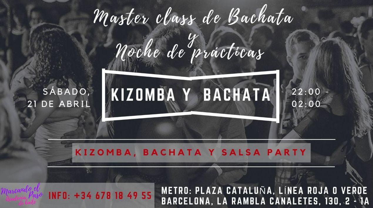 Master class de Bachata en Marcando el Paso . Barcelona