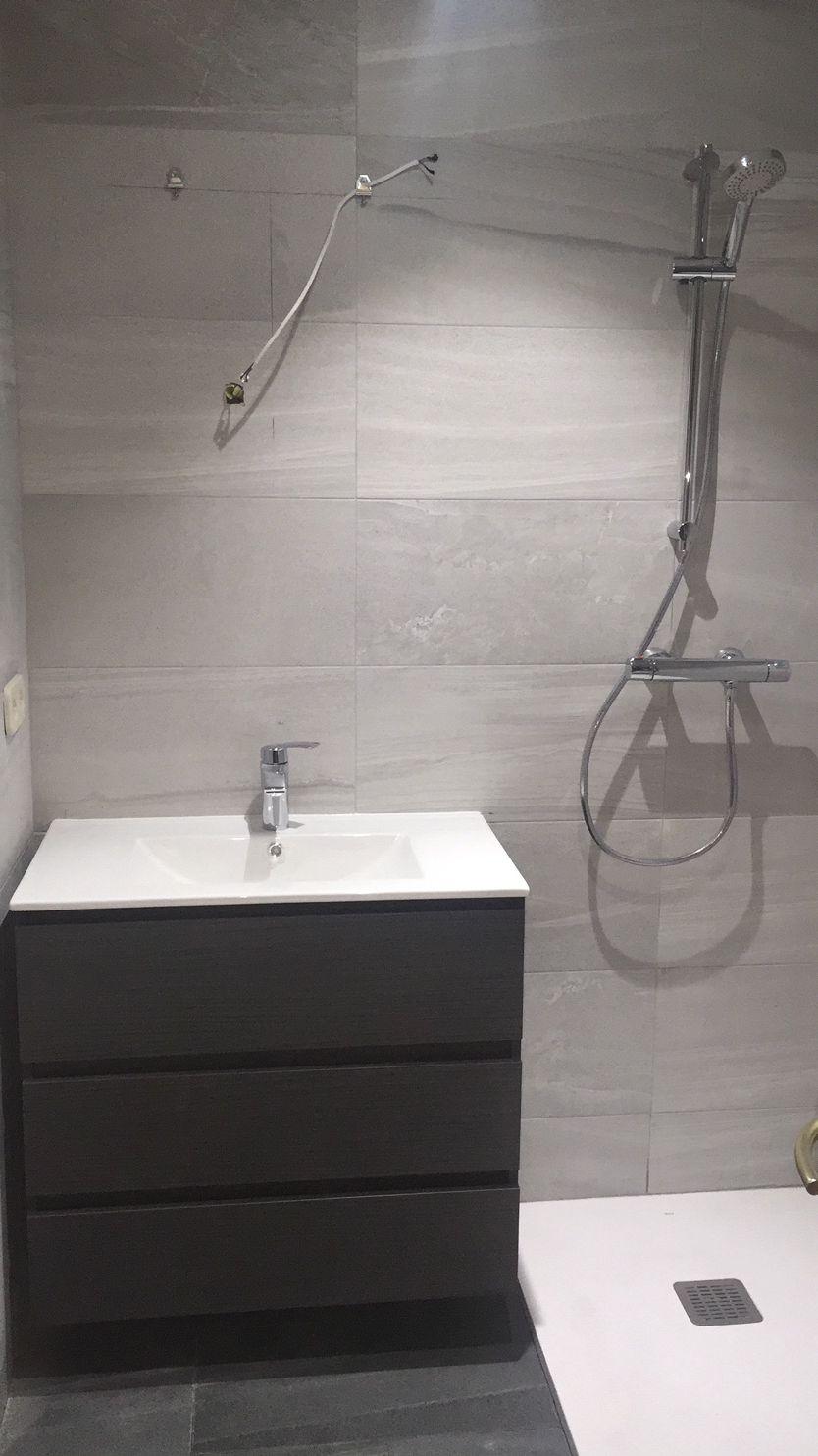 Instalación de muebles de baño en Móstoles
