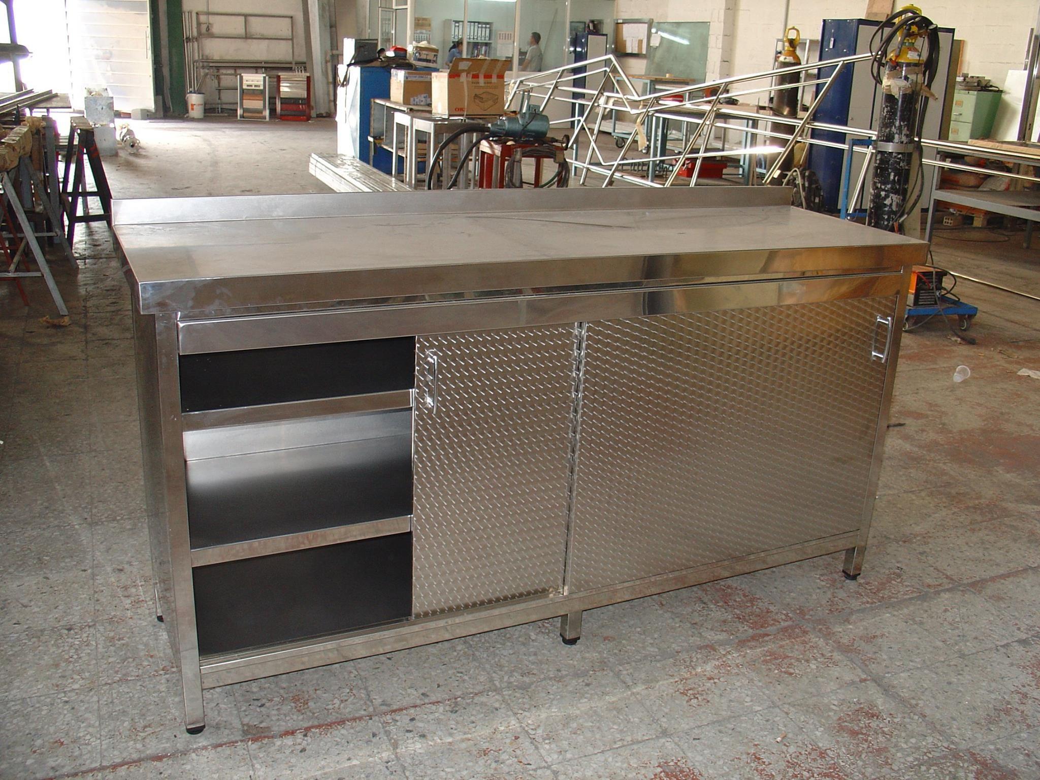 Cocinas y mobiliario para hostelería en acero inoxidable