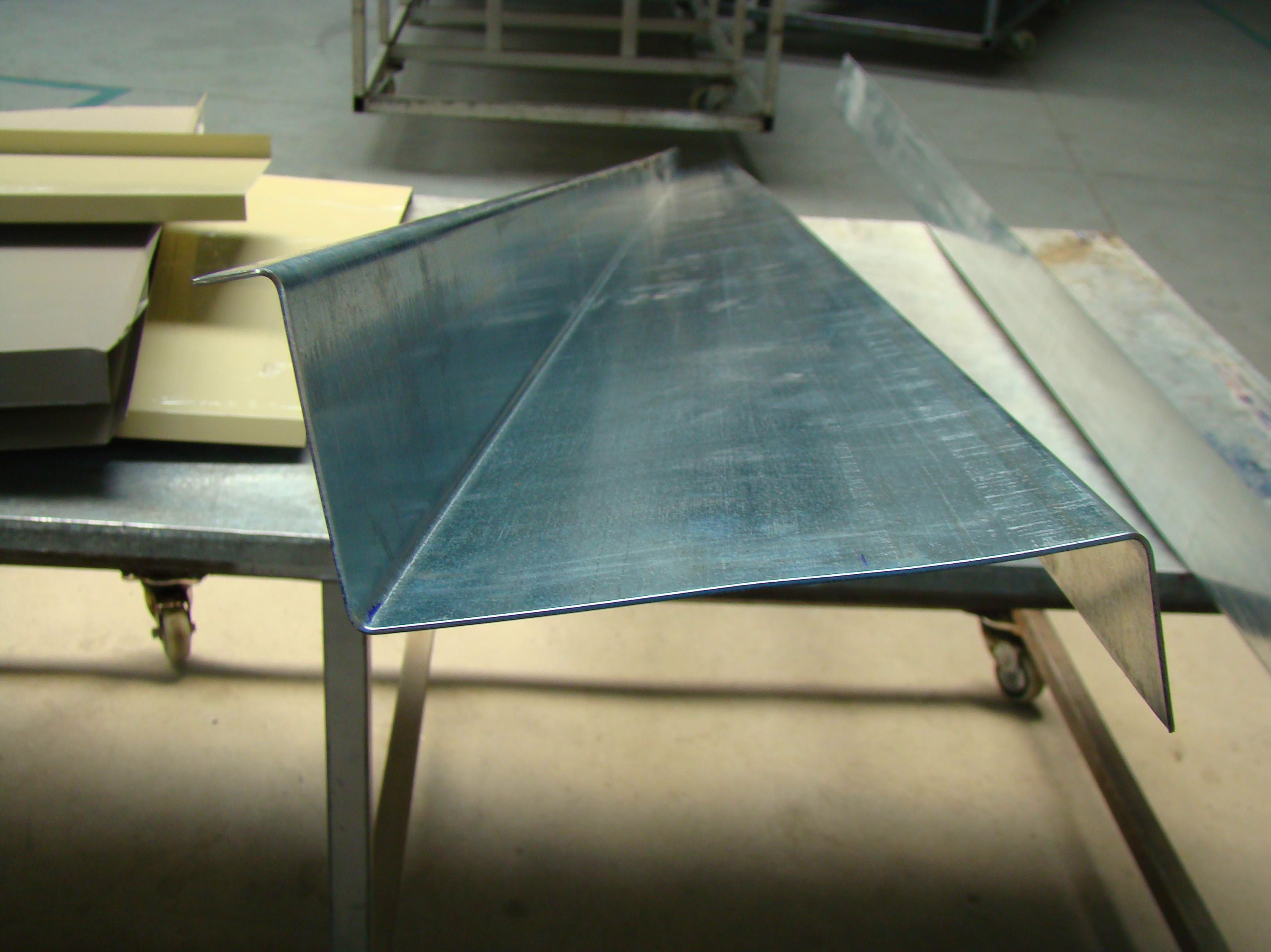 Fabricación de rematería: Servicios de Cubiertas y Montajes P. Ferreras