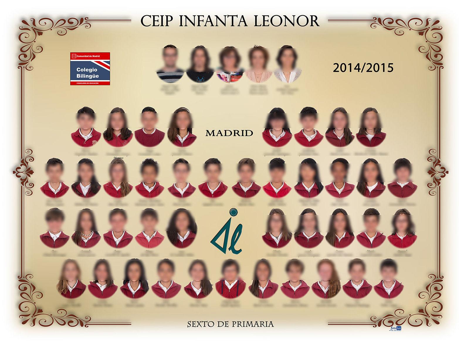 Orla de graduación Ceip Infanta Leonor, Madrid