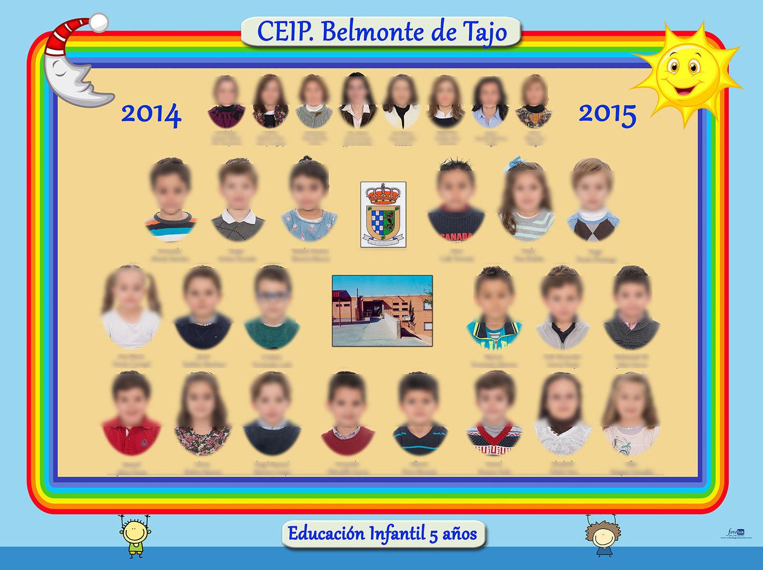 Orla de graduación Infantil 5 años Belmonte de Tajo, Madrid