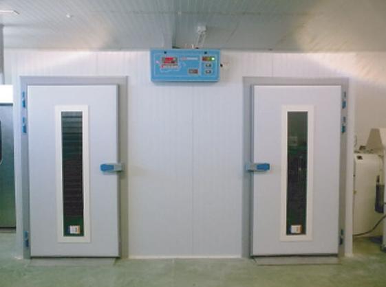 Cámara de fermentación contolada para diez carros 850 x1000