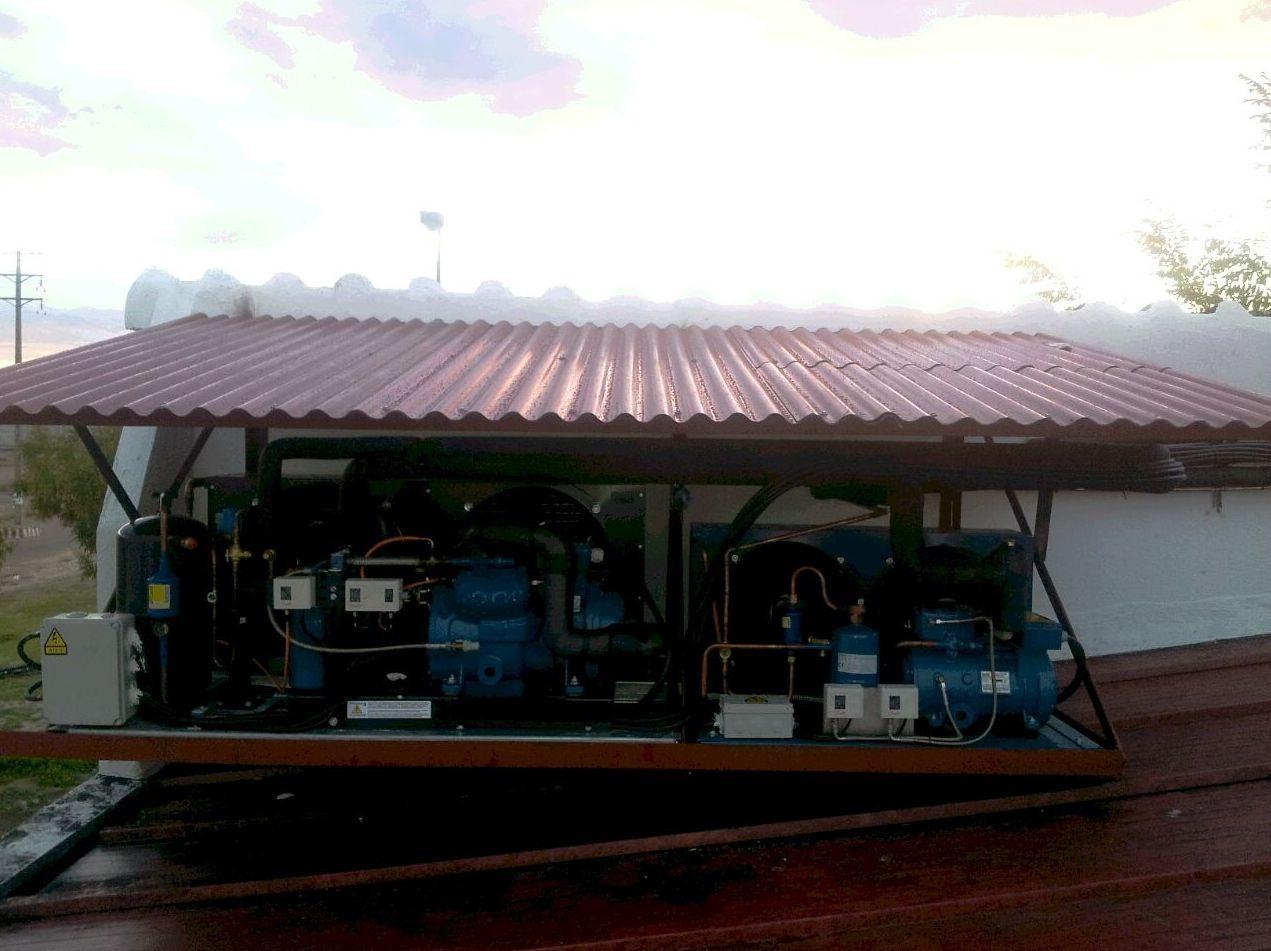 Equipos frigoríficos túnel ultracongelación y cámara de congelados