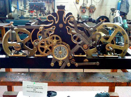 Relojes monumentales: Servicios de Pallás Campanas y Relojes